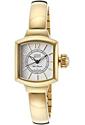 Glam Rock Women's MBD27217 Miami Beach Gold/Light Silver Stainless Steel Watch