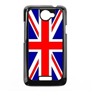 HTC One X Cell Phone Case Black Grunge British Flag 002 KP2153541
