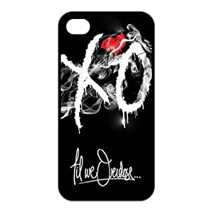 iPhone 4 / 4S Case,Personalized XO TPU Rubber Phone Cases