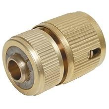 """Silverline 196506 - Conector rápido de latón con bloqueo (Hembra 1/2"""")"""