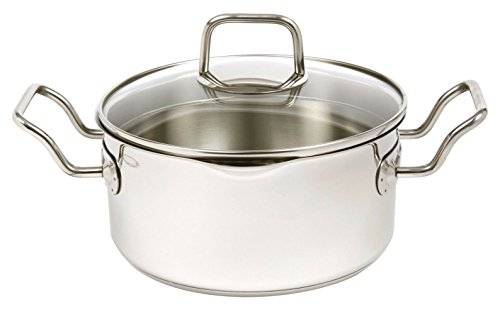 Norpro KRONA 3 Quart Vented Pot with Straining Lid