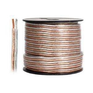 Steren 255-514 2537 cm 14 calibre chaqueta Cable de altavoz clara