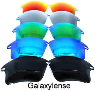 f6c8860f48 Galaxy Replacement Lenses For Oakley Fast Jacket XL Sunglasses Polarized 5 Color  Pairs