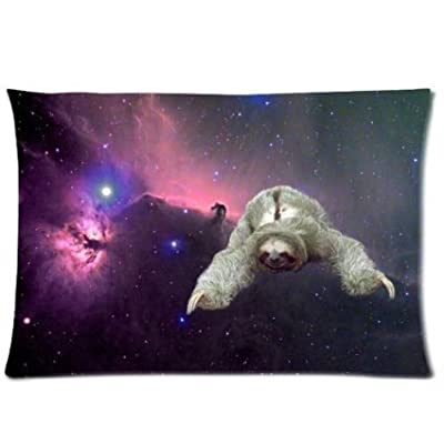 Buythecase Larrytoliver You Deserve To Have Two-Sided Printing Satin Fabric 20 X 30 Inch Pillowcase Sloth Nebula Galaxy Space Universe (2) Best Pillow Cases - Buythecase