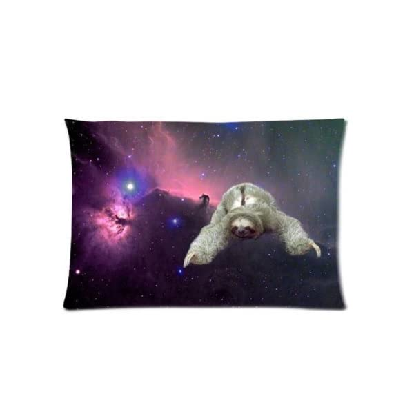 Buythecase Larrytoliver You Deserve To Have Two-Sided Printing Satin Fabric 20 X 30 Inch Pillowcase Sloth Nebula Galaxy Space Universe (2) Best Pillow Cases -
