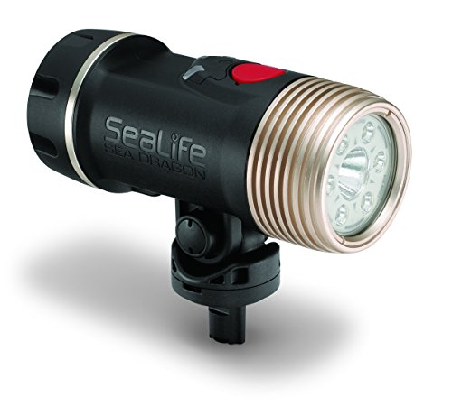Sea Dragon 2100 Spot/Flood Photo/Video/Dive Light Head Only by SeaLife
