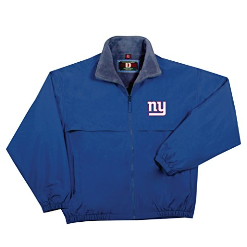 NFL New York Giants  Triumph Fleece Lined Mid Weight Jacket, Large, Navy ()