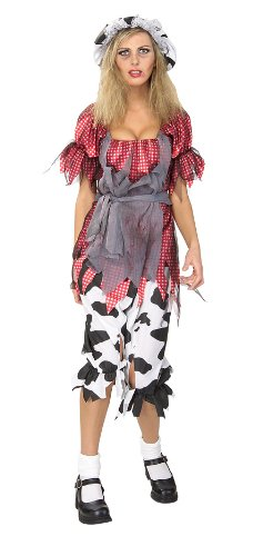 [Rubie's Costume NLP Maria The Mad Milkman Costume, Medium, Medium] (Milkman Fancy Dress Costume)