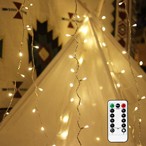 GroßZüGig Ledgle Halloween Lichterkette 6m Solar Halloween Dekoration Licht Garten & Terrasse Warmes Weiß,