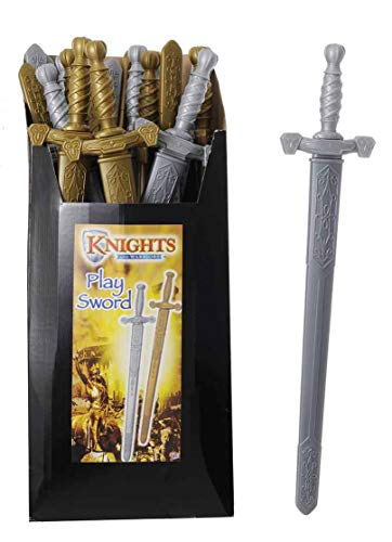 (Pack of 12 - 75cm Plastic Gladiator Swords - Role Play- Boys Dress Up - Party Bag Toys)