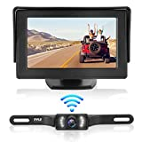 Waterproof Backup Rear View Camera - Wireless Car Parking Rearview Reverse Safety/Vehicle Monitor