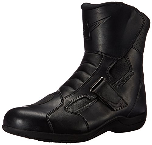 Alpinestars Ridge Waterproof Men's Street Motorcycle Boots (Black, EU Size 48)
