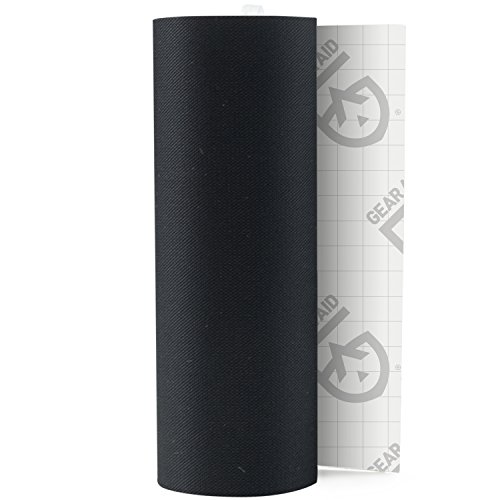 "Details about Gear Aid Tenacious Tape Repair Tape for Fabric and Vinyl, Black, 3"" x 20"""