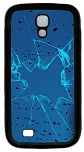 Cool Painting Samsung Galaxy I9500 Cases & Covers -Broken glass with water drops on it Custom PC Soft Case Cover Protector for Samsung Galaxy S4/I9500