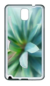 Pointed TPU Custom Samsung Galaxy Note 3/Note III/N9000 Case and Cover - White