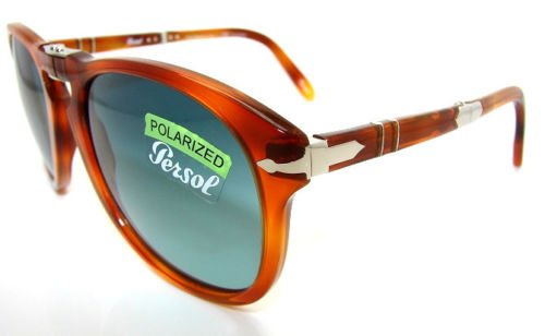 c3ab85fe5ae605 Amazon.com  Persol Steve McQueen Polarized 714SM - 96 S3 Sunglasses 54mm   Sports   Outdoors