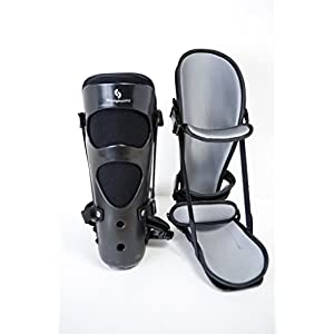 Plantar Fasciitis Night Splint w/ 2 Stretch Wedge Sizes and Foot Massage Ball (Medium)