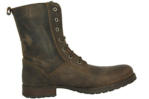 Henleys SCHOLAR Brown Leather Men Casual Boots: Amazon.co.uk: Sports &  Outdoors