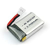FQ777 FQ17W-04 WIFI FPV Foldable Mini Pocket Drone Spare Parts:3.7V 300mAh Battery