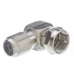 CableWholesale F-Pin Right Angle Male/Female L-Adaptor (26255520)