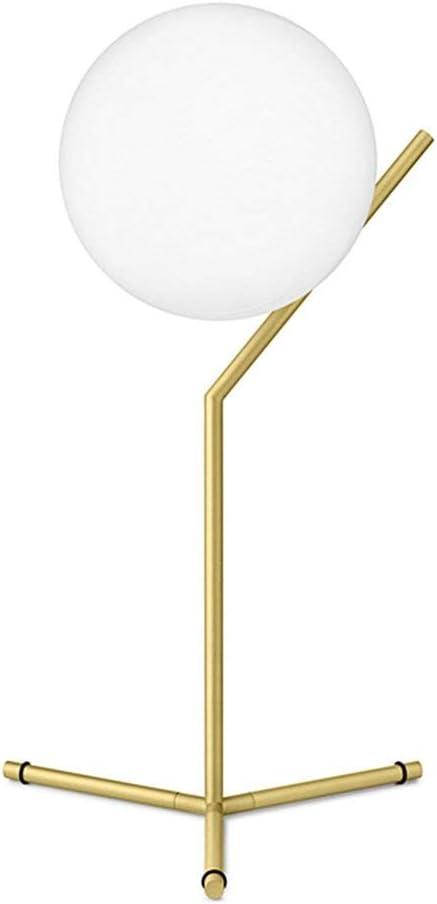Simplicidad moderna Lámparas de mesa de noche Bola de cristal ...