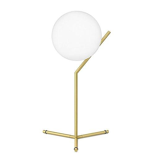 Simplicidad moderna Lámparas de mesa de noche Bola de ...