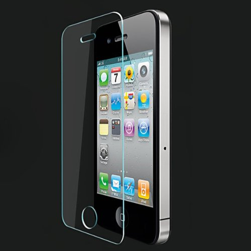 0.4mm Premium Tempered Glass Screen Protector for iPhone 4 4S - 4