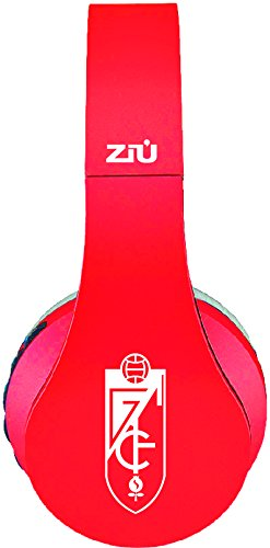 Ziu Smart Items Granada Club de Fútbol- Auriculares Bluetooth, color rojo / negro: Amazon.es: Electrónica