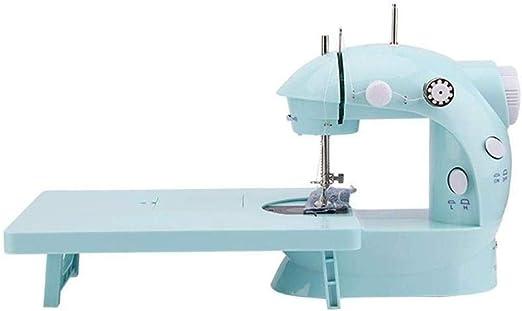 Yuaer Pequeña máquina de coser, mini máquina de reparación para ...