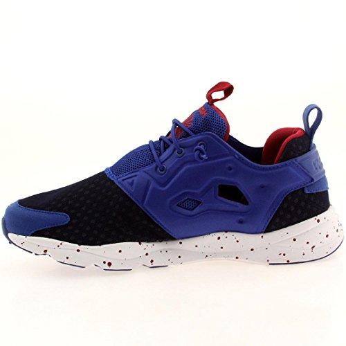 Reebok Heren Furylite Gw Fashion Sneaker Collegiale Royal / Wit / Bingskers / Navy