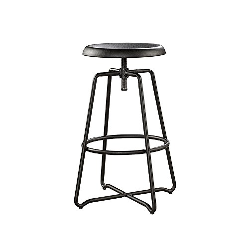sauder-415831-black-metal-finish-carson-forge-stool