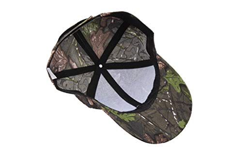 Unisex Summer Outdoors Camouflage Baseball-Cap Classic Adjustable Trucker Dad-Hat UV Protection Sunhat (Camouflage B) by Cealu (Image #3)