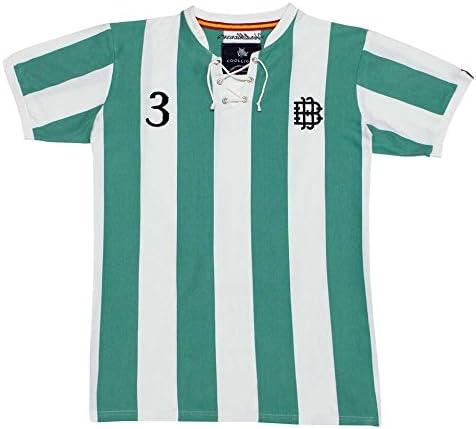 Coolligan 1907 Verdiblancos Camiseta, Multicolor, (Tamaño del ...