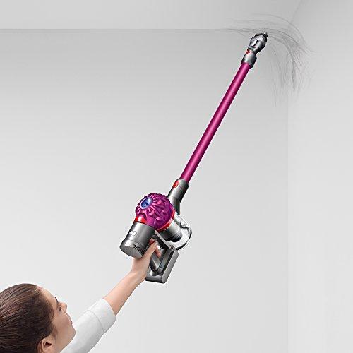 Dyson V7 Motorhead Cordless Stick Vacuum Cleaner, Fuchsia (227591-01) 3