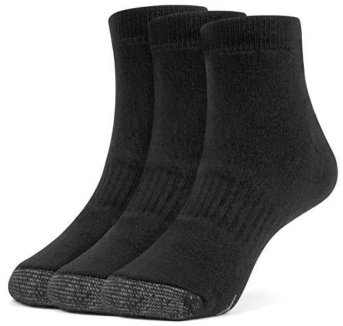 Galiva Girls Cotton Extra Soft Ankle Cushion Socks - 3 Pairs