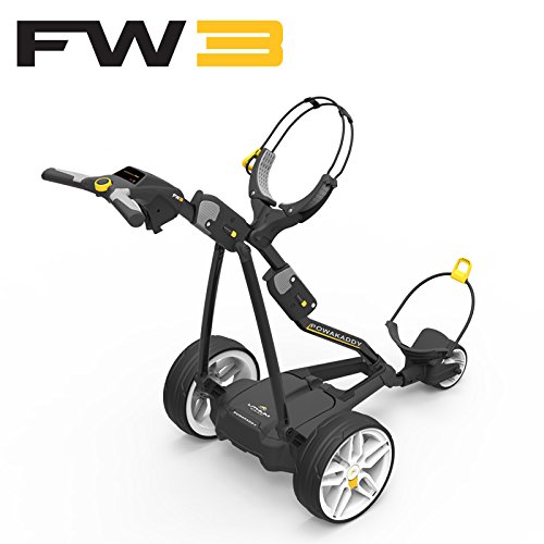 Powakaddy Fw3 Electric Golf Caddy Trolley by Powakaddy USA