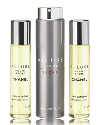 ALLURE HOMME SPORT EAU EXTREME REFILLABLE TRAVEL SPRAY