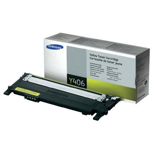 Samsung CLT-Y406S Toner, Yellow  samsung y406s | Refill Samsung CLP-320 CLP-360 CLT406 Toner Cartridge 41OIJXrXiaL