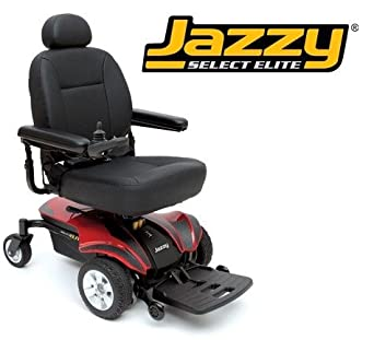 Pride mobility jselecte jazzy select elite for Chaise electrique