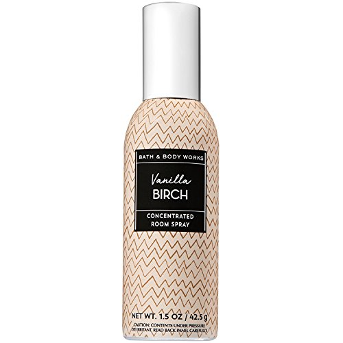 Bath and Body Work Vanilla Birch Concentrated Room Spray 1.5oz - Home Concentrated Fragrance Spray