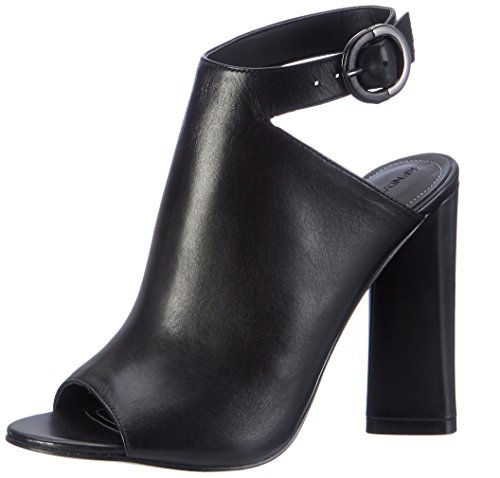 Kendall and Kylie Kkgigi - Sandalias con cuña Mujer Schwarz (Black Dress Calf Leather)