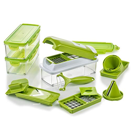 Genius Nicer Dicer Smart | Kiwi | 16 Pieces | Cuts Everything | Cutting |...