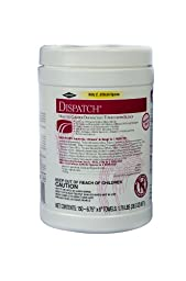 Dispatch 69150 Hospital Cleaner Disinfectant Towel with Bleach (150 Count)