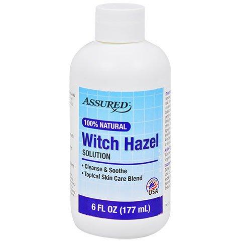 Assured Assured 100% Natural Witch Hazel Solution, 6 oz.
