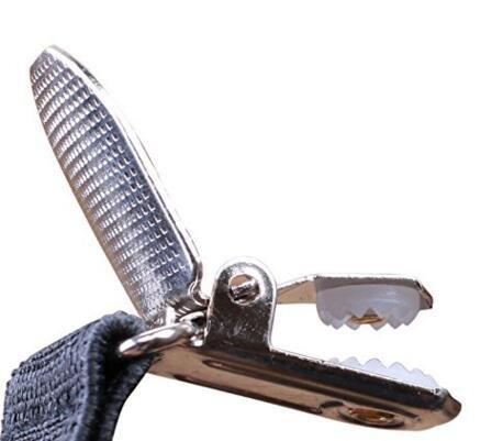 Kllniss Men's Clip Suspender Y-Back Adjustable Elastic Shoulder Strap 1.4'' Wide (One Size, Black) by Kllniss (Image #4)