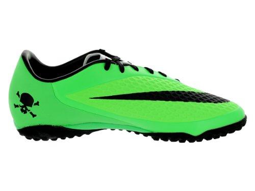 Nike Hypervenom Phelon TF 599846 Grün 303 Turf Fußballschuhe Kastanienbraun