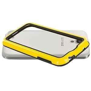 Accessory Planet(TM) Black / Yellow TPU Bumper Case Cover Accessory for Samsung Galaxy S4 wangjiang maoyi