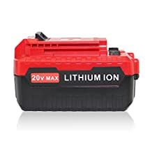 efluky 3.0Ah 20-volt MAX Lithium Ion Replacement Batterty for PORTER CABLE PCC680L