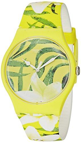 Swatch Unisex SUOJ104 Analog Display Swiss Quartz Multi-Color Watch
