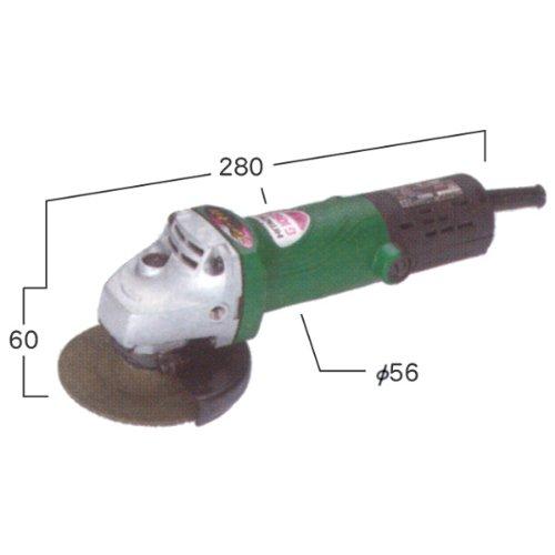 日立電動工具 電気ディスクグラインダ G10B2(ブレーキ付)(研削・研磨)